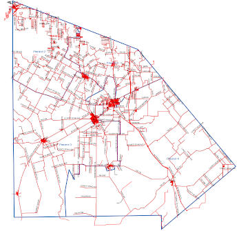 Atascosa County Precincts Map